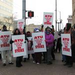 RTA drivers' union begins picketing; local leaders call for strike resolution
