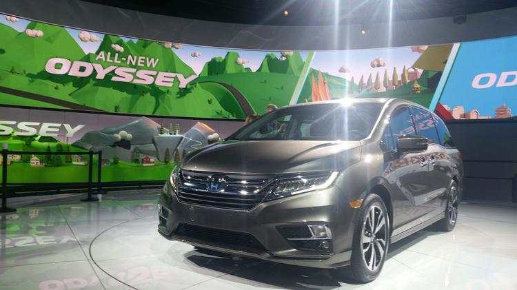 Detroit Auto Show Honda Odyssey Stocked With Entertainment - Car show app
