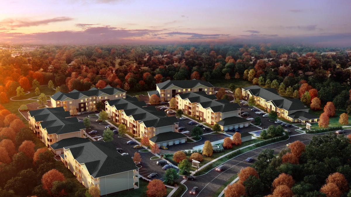 Willard At Preston Crossing Apartment Complex Expected To