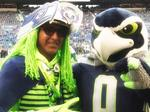 Seahawks fans include United Airlines pilot Wallace Watts (Photos)