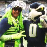 Atlanta, here they come: Avid Seahawks fans include United Airlines pilot Wallace <strong>Watts</strong> (Photos)