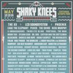 The xx, LCD Soundsystem, Phoenix headlining 2017 Shaky Knees