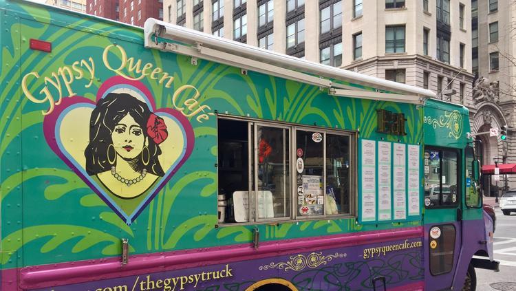 Baltimore City Food Truck Zones