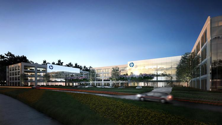 HP Inc.'s new 378,000-square-foot campus in Springwoods Village.