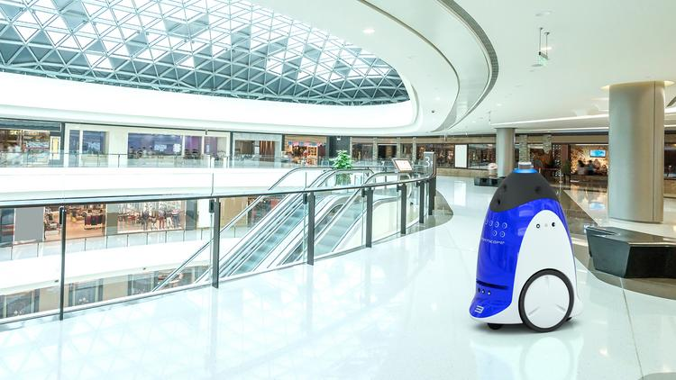 """Knightscope, the Mountain View startup whose R2-D2 lookalikes patrol Westfield Valley Fair Mall, is seeking $20 million in a crowdfunding """"mini-IPO."""""""