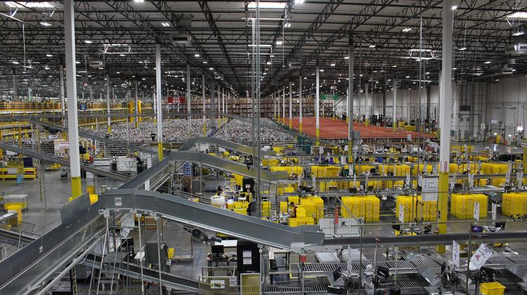 Get a peek inside Amazon's Phoenix fulfillment center