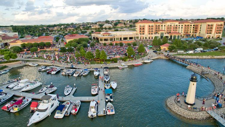 The Harbor In Rockwall Was Acquired By Dallas Based Pegasusablon Which Plans To Infuse