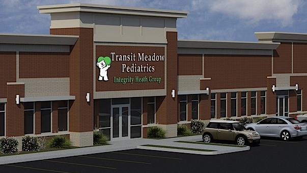 Transit Meadows Pediatrics, an affiliate of Tonawanda Pediatrics, will be part Bevilacqua Development's site.