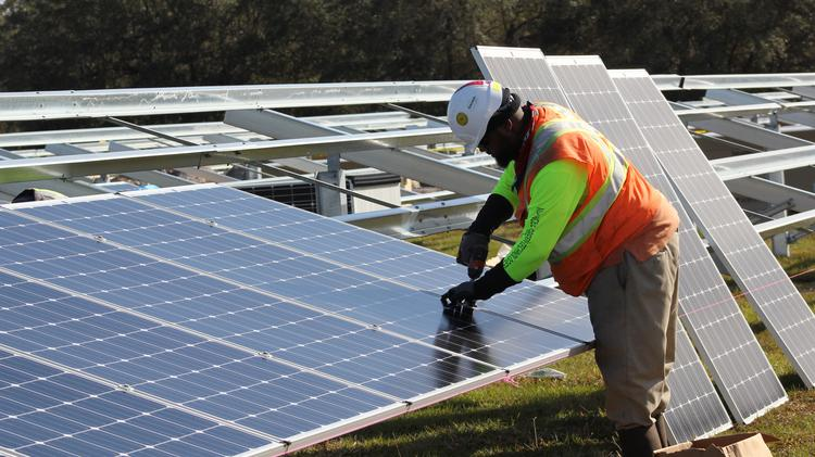 N C  solar bill provides for new construction in South