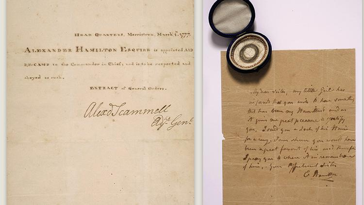 Alexander Hamilton's letters sell for $2.6 million at ...