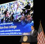 Ride-hailing services upstate, free college tuition in New York state $153.1 billion budget