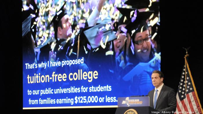 What do you think of Gov. Andrew Cuomo's free college tuition plan?