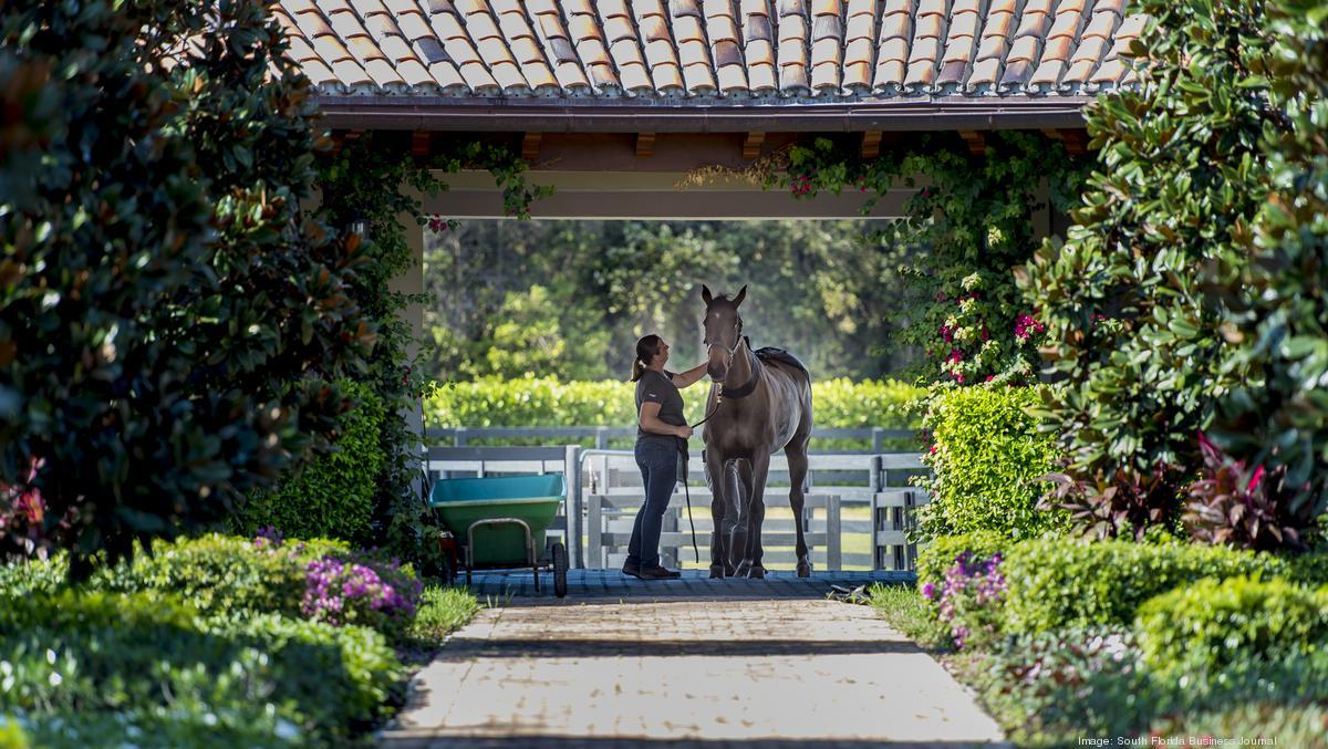 Equestrian Estate In Wellington Managed By Emma Cisneros
