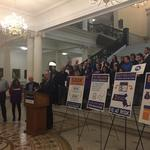 Obamacare supporters rally, saying 500,000 in Mass. could lose insurance if repealed