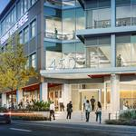 Hines' San Mateo office building near Caltrain wraps up