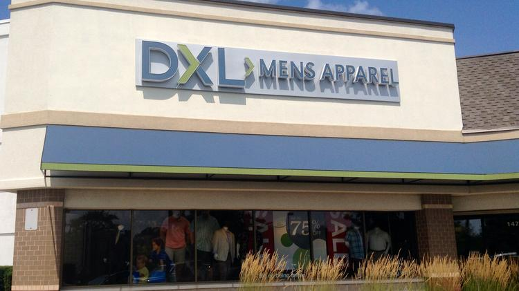 048f461d390 An example of a DXL Men s Apparel. A location is opening at the South County