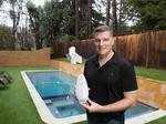 How's the pool? ConnectedYard's device and app can tell you about water quality