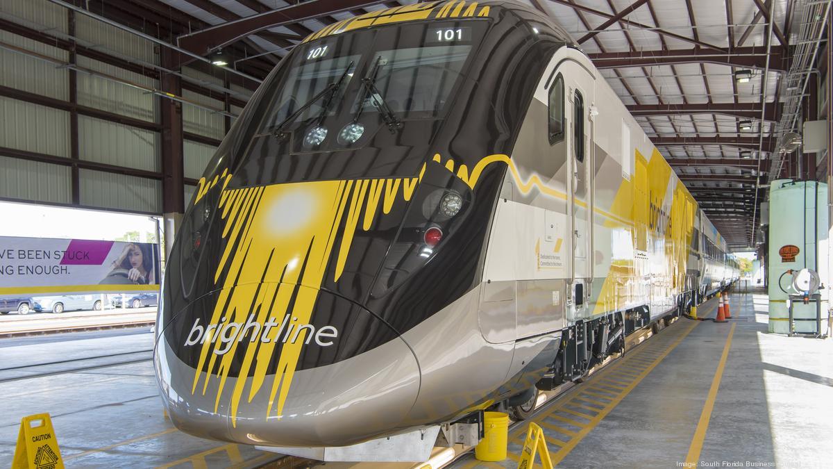 Brightline Passenger Train Makes Slow Progress Toward