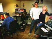 """Clark James and Gretchen Miller's firm, Hive-FX, secured work on the pilot for """"Grimm"""" and worked on every season of the series. The show """"essentially doubled our business,"""" James said."""