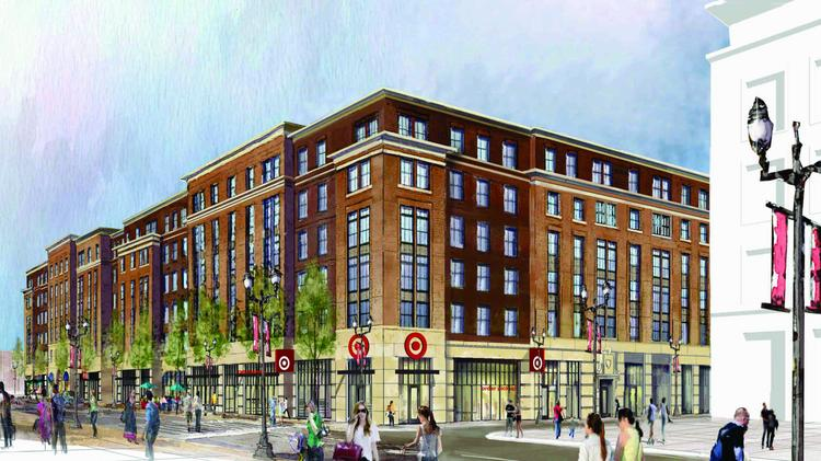 target by ohio state will include cvs and starbucks as part of