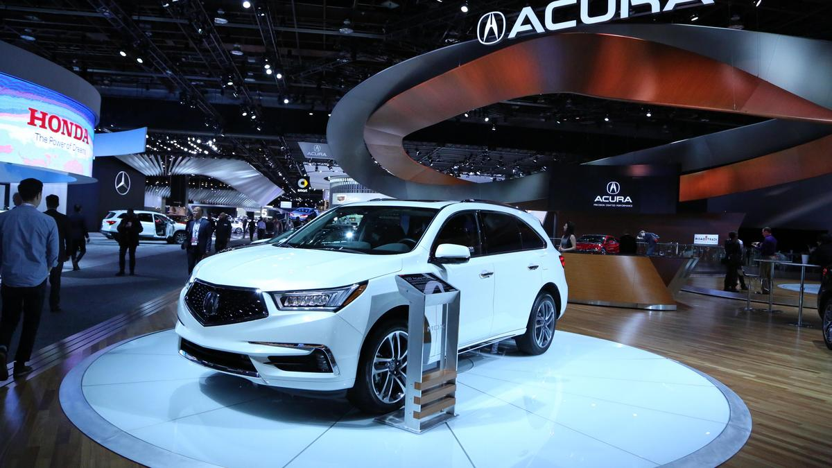 Acura mdx joins rdx and honda cr v on production lines at for Honda east liberty ohio