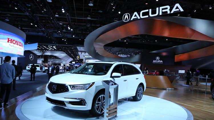 Acura MDX Joins RDX And Honda CRV On Production Lines At East - 2018 acura rdx remote start