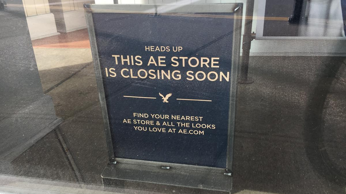 American Eagle To Close At SouthSide Works