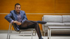 Ankur Gopal, founder and CEO of Interapt LLC, poses for a portrait.