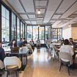 Co-working space takes advantage of idle N.Y.C. restaurants (at least until dinner time)