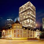 Hotel addition at downtown Masonic center gains city historic approval