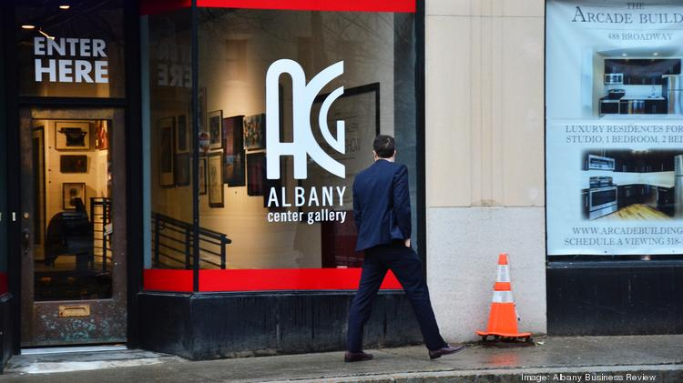 Albany Center Gallery has moved a few times during its 40-year history. The latest location isn't far from its last home.