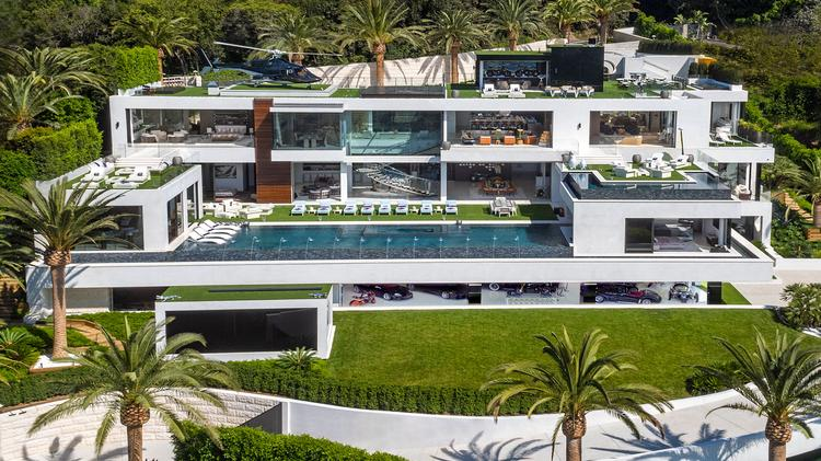 A home in Bel Air, Calif. is on the market for $250 million.