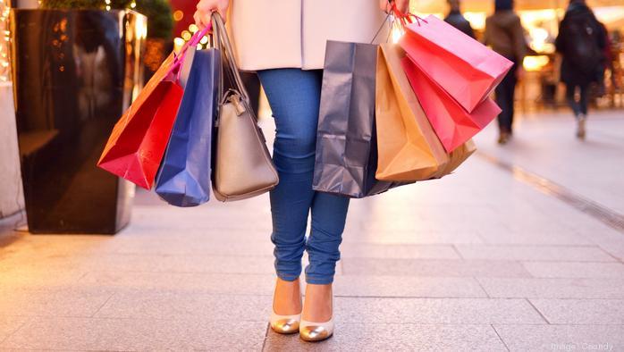 Millennials still shopping in stores, but...