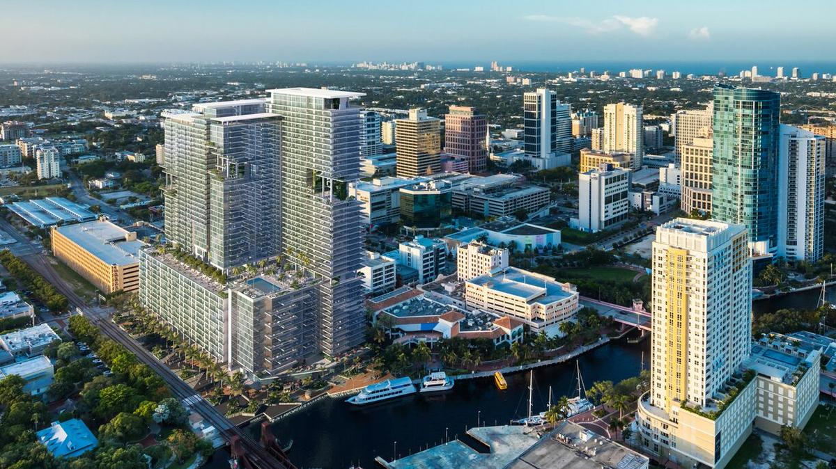 Broward County Commission Considers Plans For Downtown