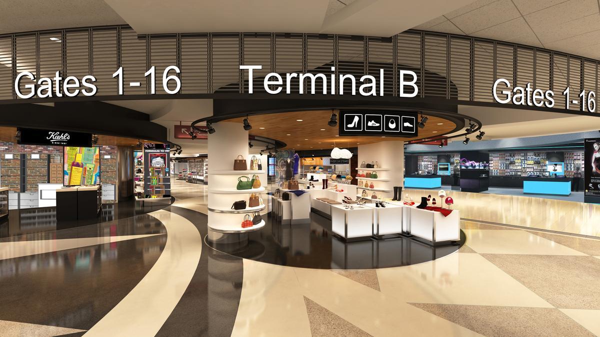 Transformations Terminal B Renovation At Phl Airport