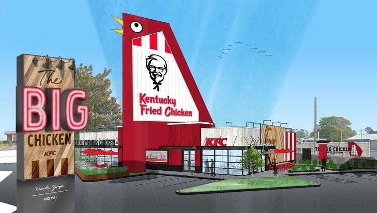 marietta s big chicken restaurant getting 2 million renovation
