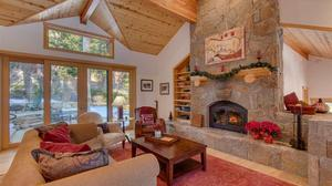 This Handsome Tahoe Lodge Delights
