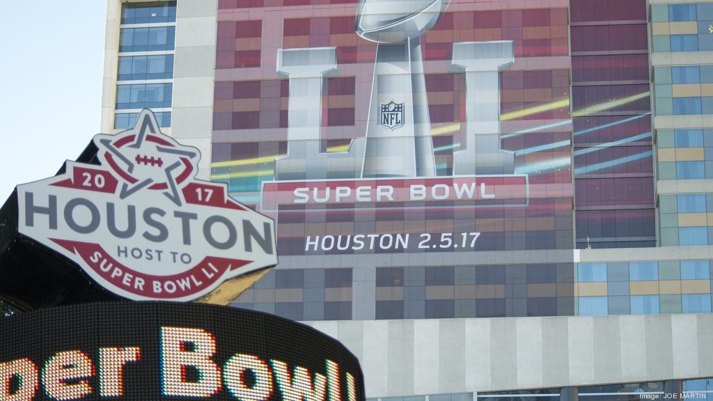 Houston Hosts Super Bowl Events Including NFL Experience Super - Super bowl ads lines on us map