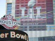 The 2017 Super Bowl's economic impact is $107 million more than the impact of last year's Super Bowl.