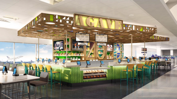 United S Iah Plans Include Restaurants From Chefs Greg