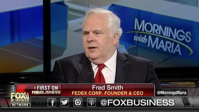 FedEx founder Fred Smith testifies before U.S. House ...