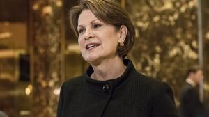 What Marillyn Hewson really, really likes about Donald Trump these days