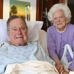 George H.W. <strong>Bush</strong> discharged from hospital