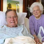 President George H.W. <strong>Bush</strong> admitted to hospital again (update)