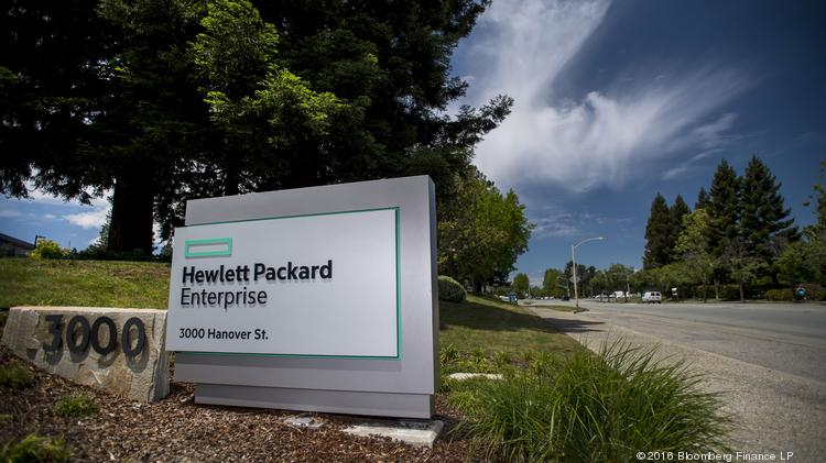 hewlett packard enterprise inc is cutting san jose jobs from recently purchased company