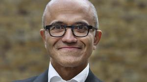 LONDON, UK - OCT, 6th, 2016: Satya Nadella. (Picture by Veronique de Viguerie/ Reportage by Getty Images)