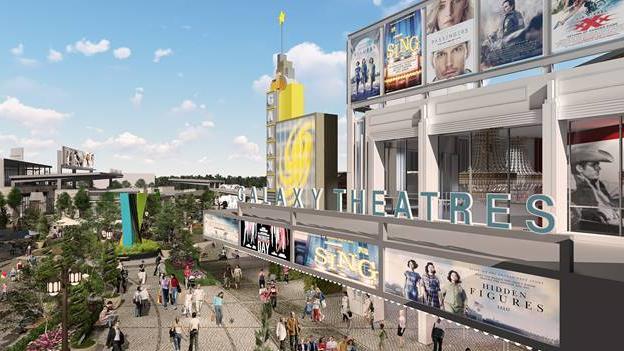 Galaxy Theatres luxury venue under construction at