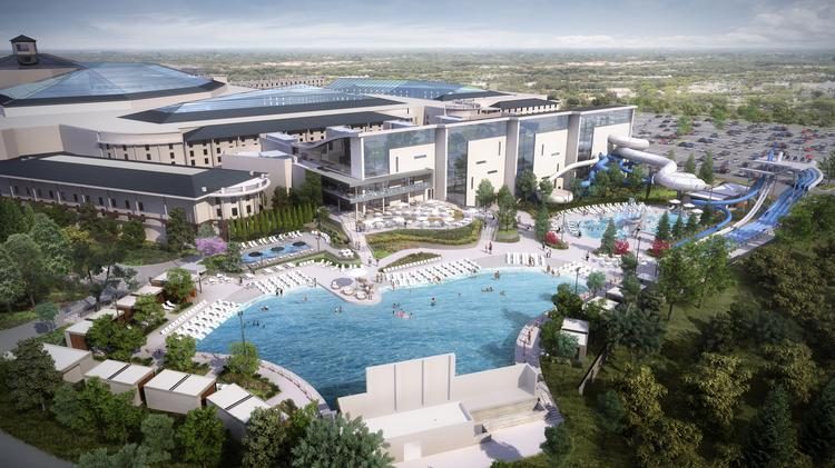 Opryland Usa Map.Ryman Hospitality Properties Reveals Opening For Opryland S