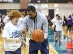 Charlotte Hornets host clinic for Special Olympic athletes (PHOTOS)