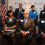 <strong>Atlanta</strong> mayoral candidates make debut at Buckhead Coalition (SLIDESHOW)